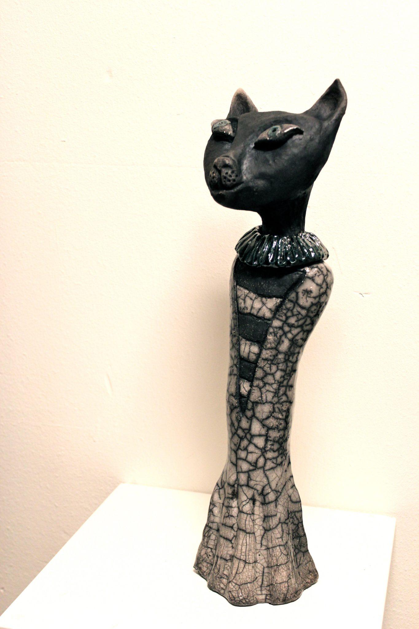 Catwoman Raku