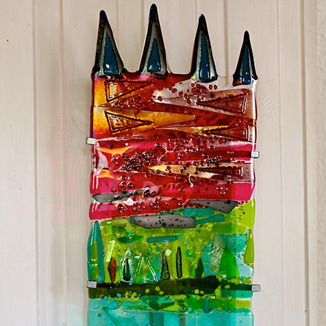 Lampa i konstglas